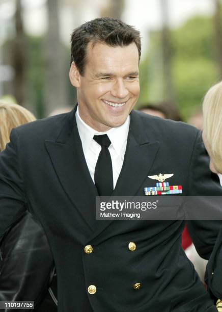 David James Elliott during Donald P Bellisario Honored with Star on the Hollywood Walk of Fame at 7080 Hollywood Blvd in Hollywood California United...