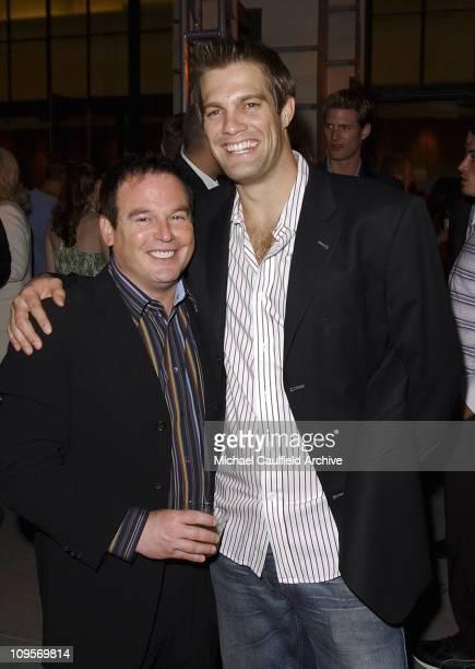 David Janollari president of WB Entertainment and Geoff Stults