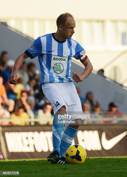 David Jarolim of FK Mlada Boleslav in action during the Gambrinus Liga match between FK Mlada Boleslav and AC Sparta Prague at the Mestsky Stadion on...