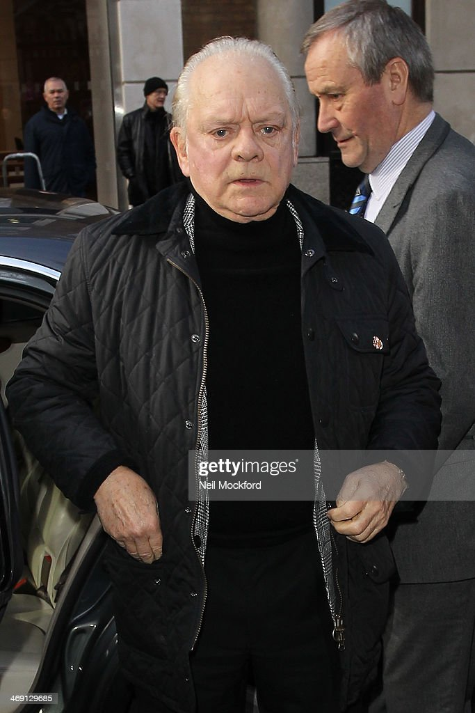 David Jason attends the funeral of Roger Lloyd-Pack at St Paul's Church in Covent Garden on February 13, 2014 in London, England.