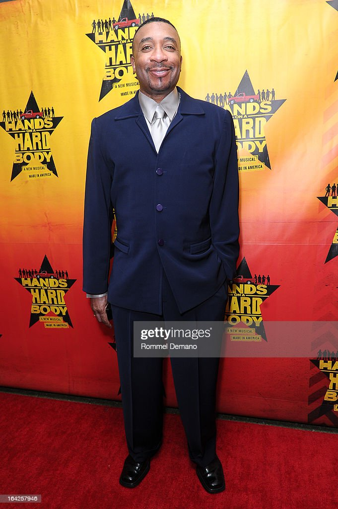 David Jennigs attends the 'Hands On A Hard Body' Broadway Opening Night After Party at Roseland Ballroom on March 21, 2013 in New York City.