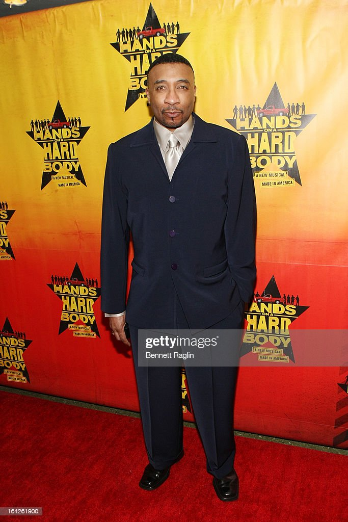 David Jennings attends 'Hands On A Hard Body' Broadway opening night after party at Roseland Ballroom on March 21, 2013 in New York City.