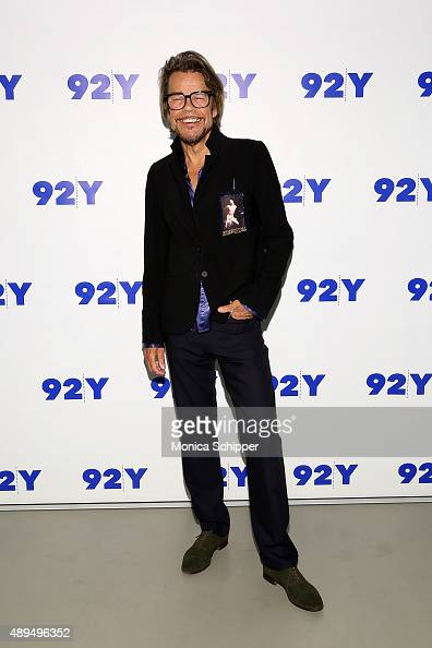 David Johansen aka Buster Poindexter attends 92nd Street Y Presents Buster Poindexter And NY1's Budd Mishkin at 92nd Street Y on September 21 2015 in...