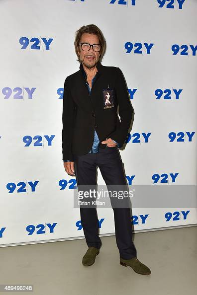 David Johansen aka Buster Poindexter attends the 92nd Street Y Presents Buster Poindexter And NY1's Budd Mishkin event at 92nd Street Y on September...