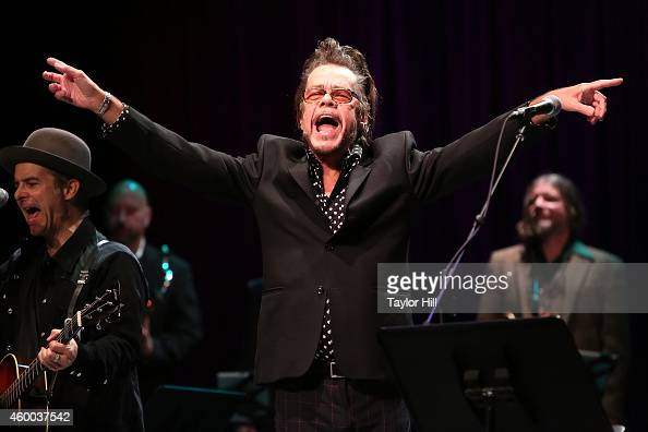 David Johansen of New York Dolls performs during the 34th Annual John Lennon Tribute Benefit Concert at Symphony Space on December 5 2014 in New York...