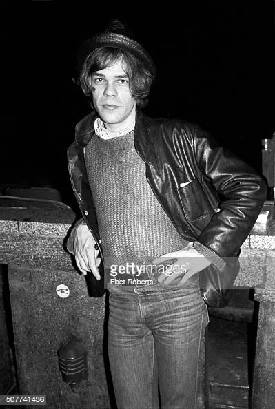 David Johansen of the New York Dolls at an Elvis Costello show at the Capitol Theater in Passaic New Jersey on May 5 1977