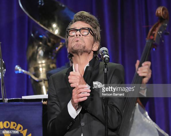 David Johansen onstage at the Friars Club Honoring Martin Scorsese With the Entertainment Icon Award at Cipriani Wall Street on September 21 2016 in...