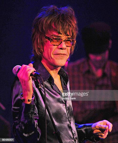 David Johansen performs at the City Winery on December 29 2009 in New York City
