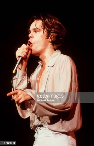 David Johansen performs on stage New York August 1979