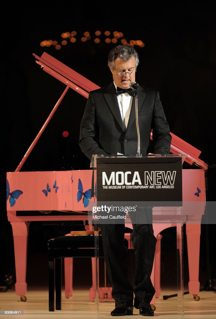 David Johnson, MOCA Board of Trustees Co-Chair, onstage at the MOCA NEW 30th anniversary gala held at MOCA on November 14, 2009 in Los Angeles, California.