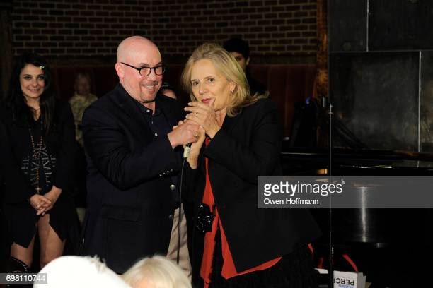 David Jones and Maripol attend Second Mudd Club Rummage Sale at Roxy Hotel at The Roxy Hotel on June 12 2017 in New York City