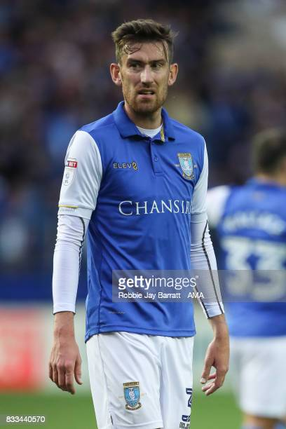David Jones of Sheffield Wednesday during the Sky Bet Championship match between Sheffield Wednesday and Sunderland at Hillsborough on August 16 2017...