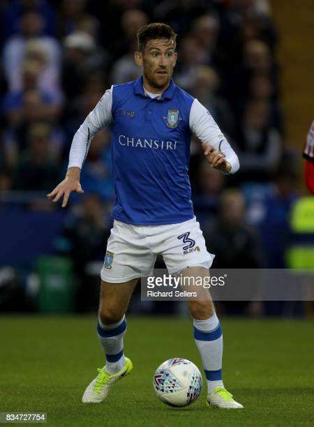 David Jones of Sheffield Wednesday on the ball during the Sky Bet Championship match between Sheffield Wednesday and Sunderland at Hillsborough on...