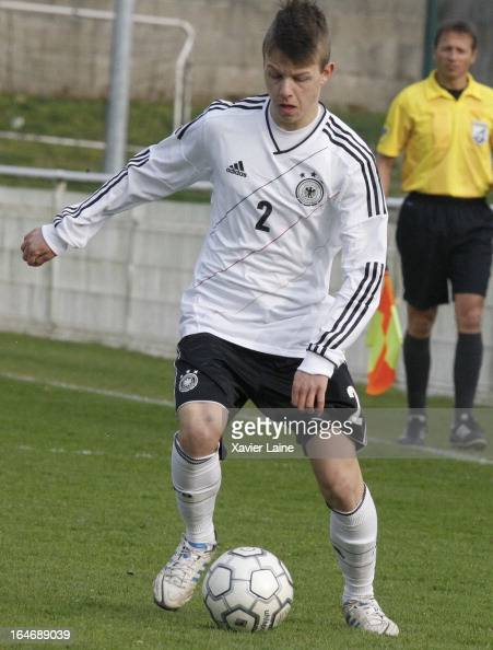 David Kammerbauer of Germany during the International Friendly match between U16 Germany and U16 Chile on March 26 2013 in La RochesurYon France