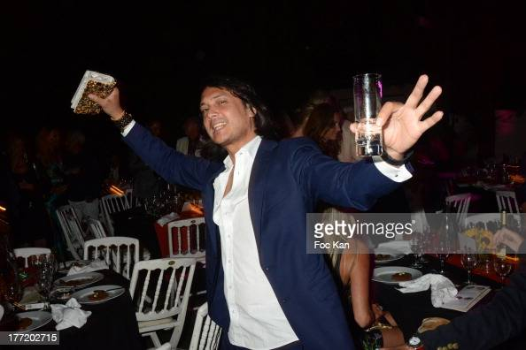 David Kane attends the Massimo Gargia's Birthday Dinner at Moulins de Ramatuelle on August 21 2013 in Saint Tropez France
