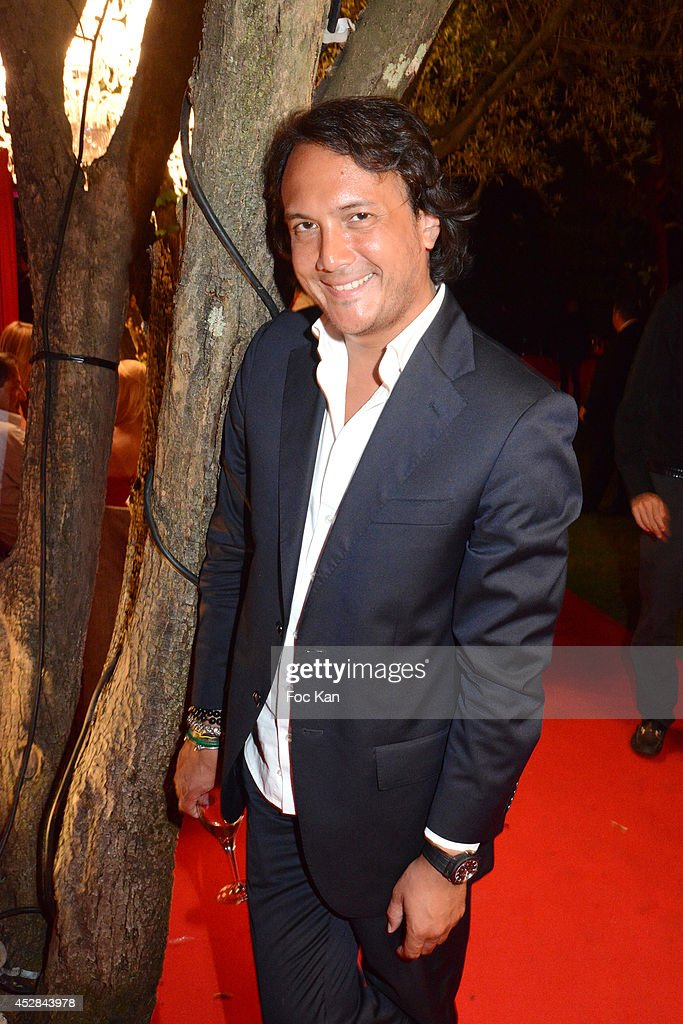 David Kane attends the Monika Bacardi Summer Party 2014 St Tropez at Les Moulins de Ramatuelle on July 27, 2014 in Saint Tropez, France.
