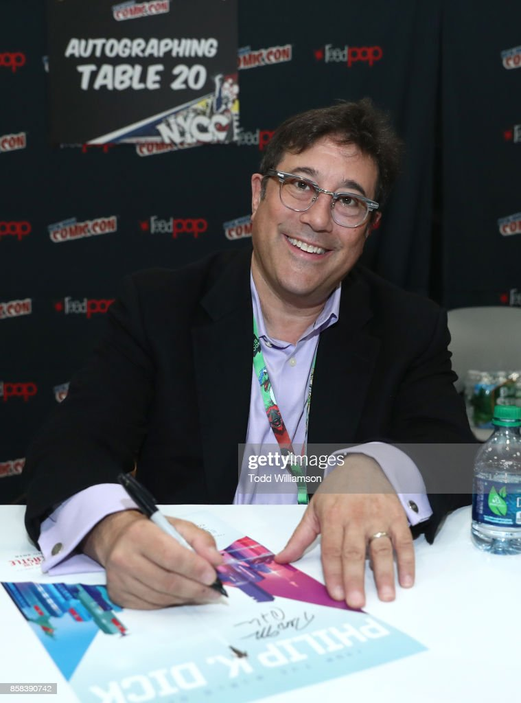David Kantor attends 'The World of Philip K. Dick' - The Man in the High Castle and Philip K. Dick's Electric Dreams Panel at Hammerstein Ballroom on October 6, 2017 in New York City.