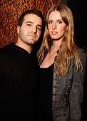 David Katzenberg and designer Nicky Hilton attend the Nobu one year anniversary party held at Nobu on March 11 2009 in Los Angeles California