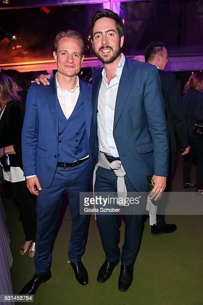 David Keitsch producer of the movie 'Victoria' and director David Dietl son of Helmut Dietl during the German Films Reception at the annual 69th...