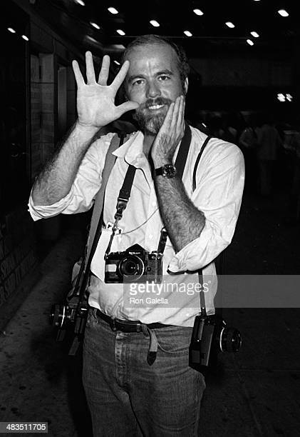 David Kennerly attends Broadway for Kennedy Campaign Rally on August 10 1980 at the Shubert Theater in New York City
