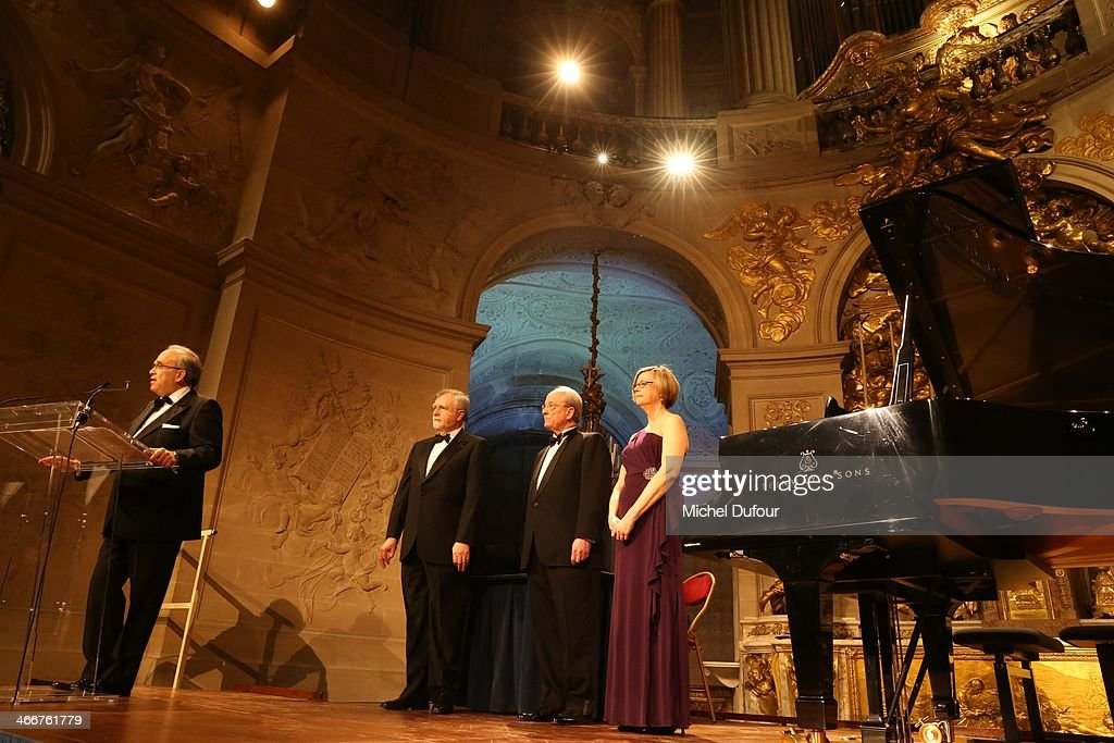 David Khayat and guests attend the David Khayat Association 'AVEC' Gala Dinner on February 3 2014 in Versailles France
