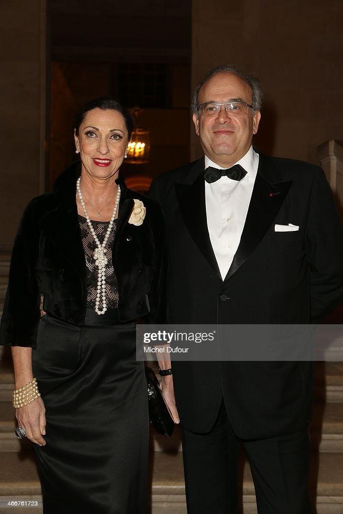 David Khayat and his wife attend the David Khayat Association 'AVEC' Gala Dinner on February 3 2014 in Versailles France