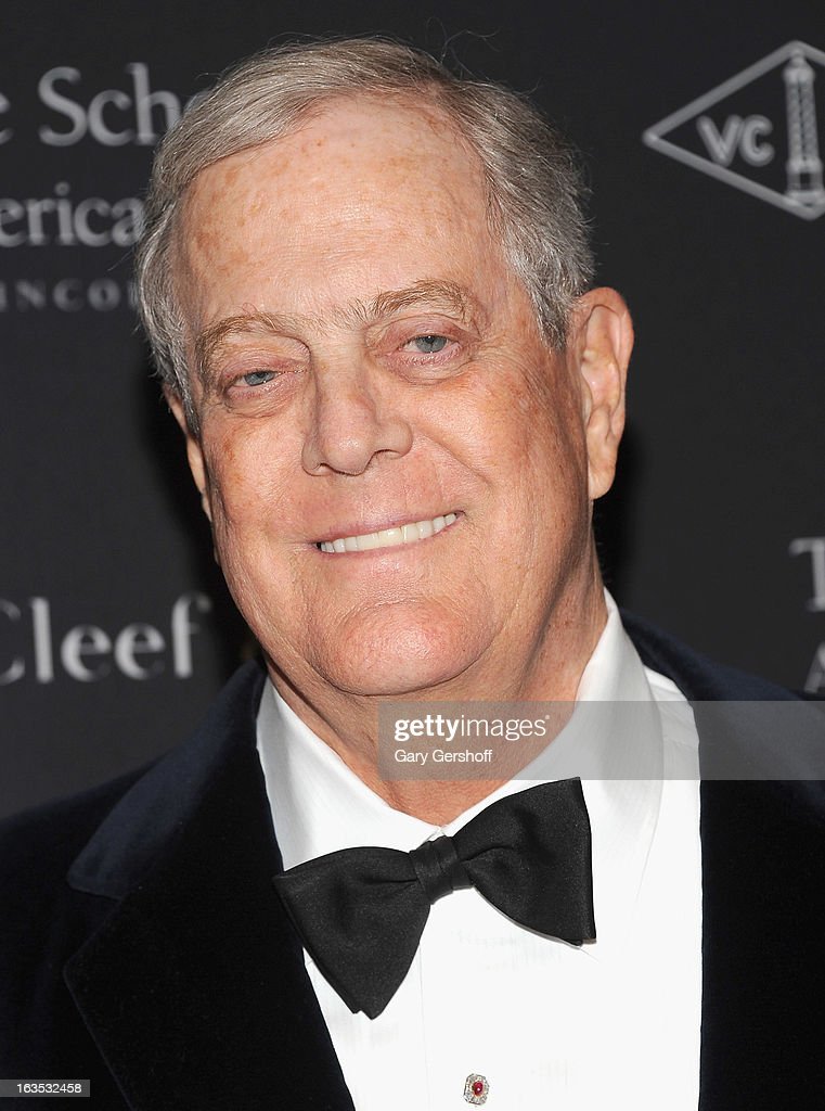 <a gi-track='captionPersonalityLinkClicked' href=/galleries/search?phrase=David+Koch+-+Businessman&family=editorial&specificpeople=15456822 ng-click='$event.stopPropagation()'>David Koch</a> attends the 2013 School Of American Ballet Winter Ball: A Night In The Far East at David H. Koch Theater, Lincoln Center on March 11, 2013 in New York City.