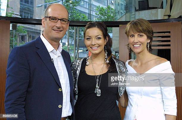 David Koch RickiLee Coulter and Natalie Barr