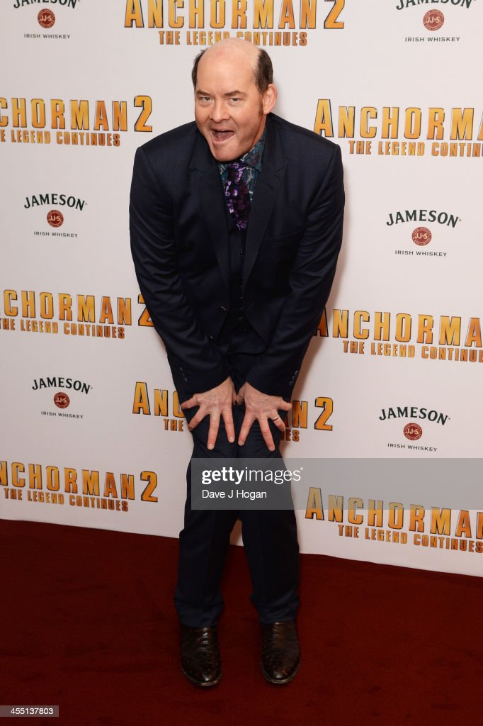 <a gi-track='captionPersonalityLinkClicked' href=/galleries/search?phrase=David+Koechner&family=editorial&specificpeople=804105 ng-click='$event.stopPropagation()'>David Koechner</a> attends the UK premiere of 'Anchorman 2: The Legend Continues' at The Vue West End on December 11, 2013 in London, England.