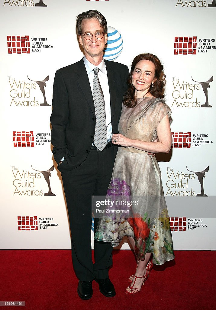 David Koepp and Melissa Thomas attend 65th Annual Writers Guild East Coast Awards at B.B. King Blues Club & Grill on February 17, 2013 in New York City.