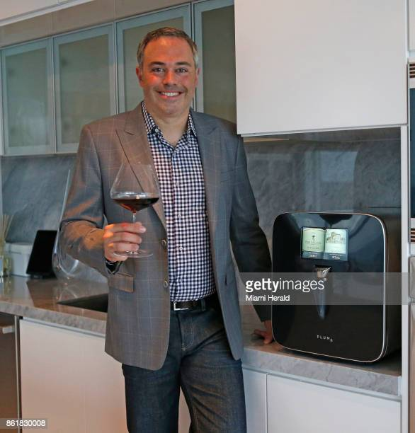 David Koretz CEO of Plum poses for the pictures at his home on Wednesday Sept 6 2017 in Miami Fla David Koretz' company Plum has created a hightech...
