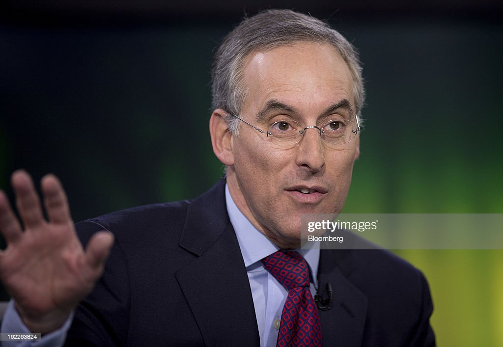 David Kostin, chief U.S. equity strategist at Goldman Sachs Group, speaks during a Bloomberg Television interview in New York, U.S., on Thursday, Feb. 21, 2013. Kostin spoke about corporate earnings, investment strategy and the potential impact of automatic federal budget cuts on the U.S. economy. Photographer: Scott Eells/Bloomberg via Getty Images
