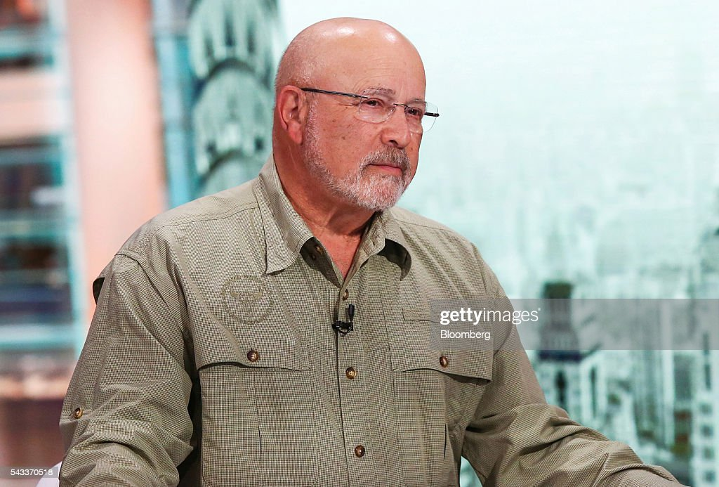 David Kotok, chairman and chief investment officer at Cumberland Advisors, listens during a Bloomberg Television interview in New York, U.S., on Monday, June 27, 2016. Kotok discussed the impact of the Brexit decision on the markets and what investors need to know to navigate the volatility. Photographer: Chris Goodney/Bloomberg via Getty Images