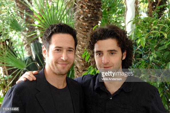 David Krumholtz and Rob Morrow during 'Numb3rs' Press Conference with Rob Morrow and David Krumholtz at The Four Seasons in Beverly Hills California...