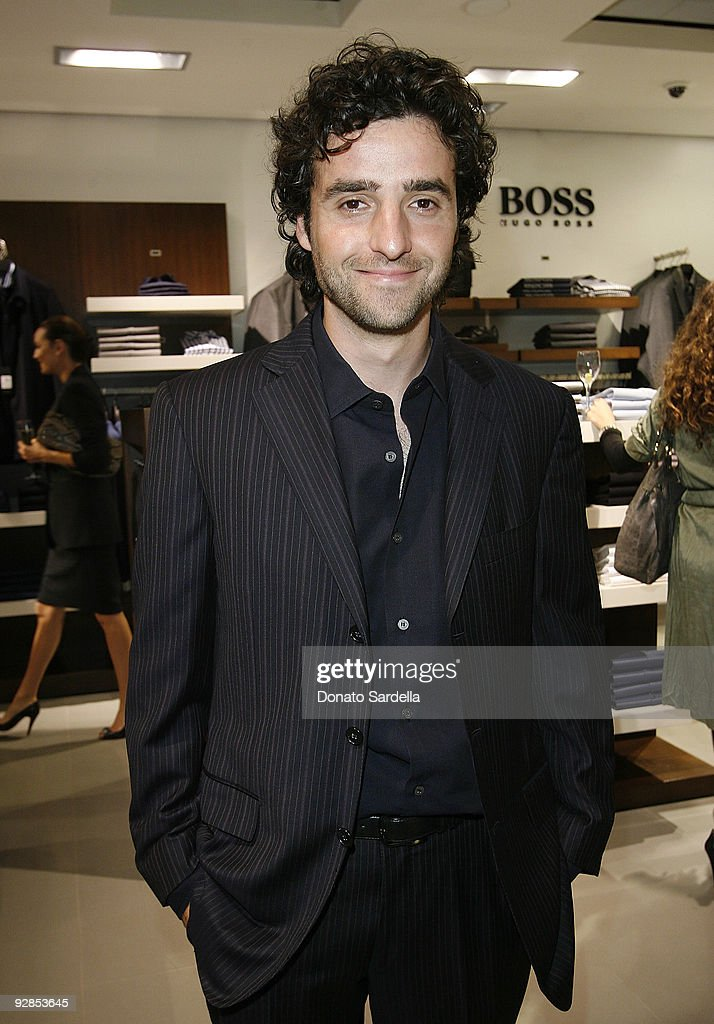 David Krumholtz attends Hugo Boss & Vanity Fair with Elizabeth Banks Host Children's Hospital Los Angeles Benefit on November 5, 2009 in Beverly Hills, California.