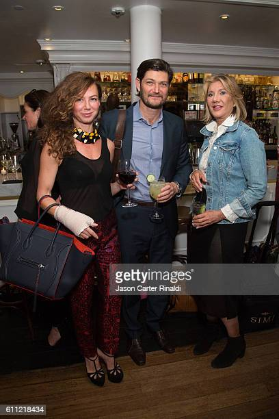 David Krzypow Morrocanoil Kathleen Fleming National Account Director GreenGale Publishing and guest attend Gotham Magazine Celebrates September Fall...