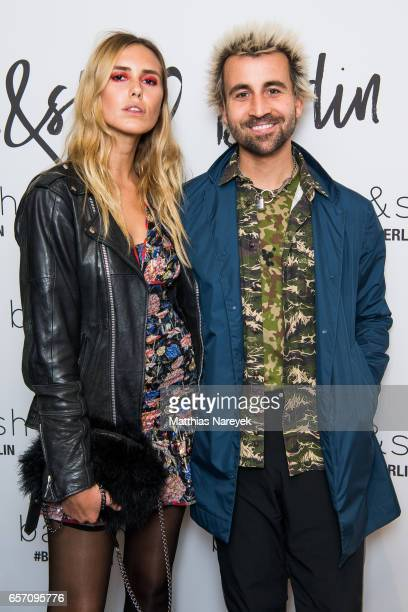 David Kurt Karl Roth and guest attend the BaSh store opening on March 23 2017 in Berlin Germany