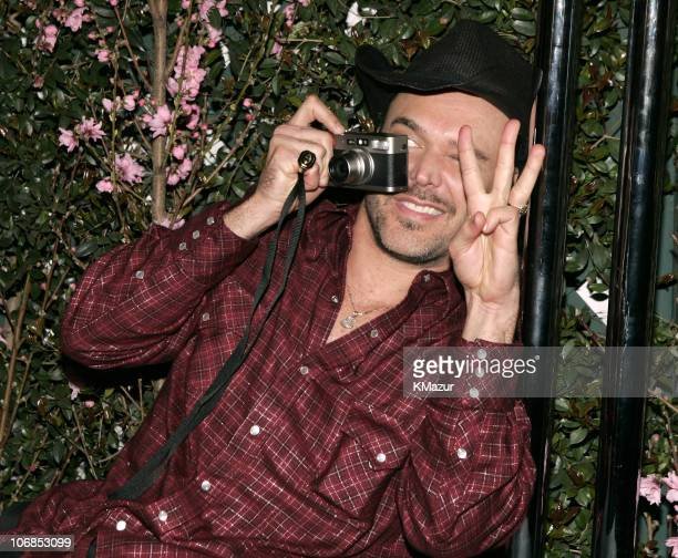 David LaChapelle during 13th Annual Elton John AIDS Foundation Oscar Party Cohosted by Chopard After Party at Pacific Design Center in West Hollywood...
