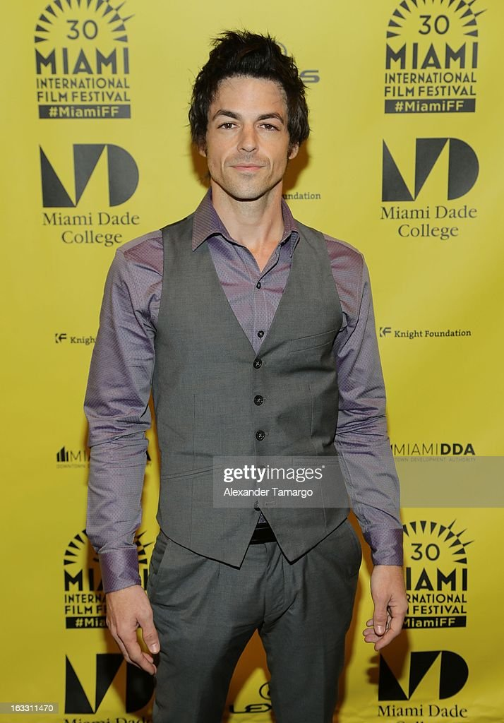 David Lago attends 'Eenie Meenie Miney Moe' Premiere during the 2013 Miami International Film Festival at Gusman Center for the Performing Arts on March 7, 2013 in Miami, Florida.