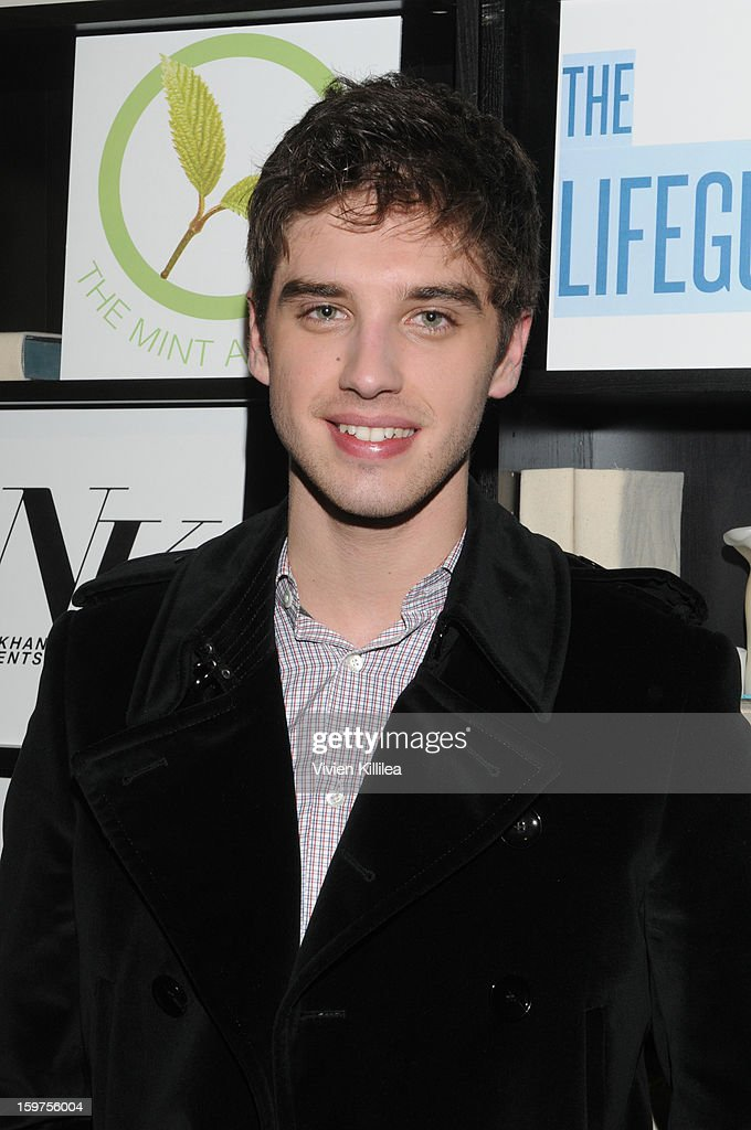 David Lambert attends 'The Lifeguard' Premiere after party on January 19, 2013 in Park City, Utah.