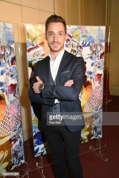 David Lantin from M6 and W9 TV attends 'Gala D'Enfance Majuscule 2017' Charity Gala At Salle Gaveau on March 20 2017 in Paris France