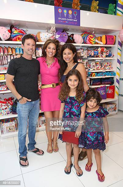 David Lascher event host Dylan Lauren and Dana Klein and her daughters attend Feuerstein attend Dylan's Candy Bar Candy Girl Collection LA Launch...
