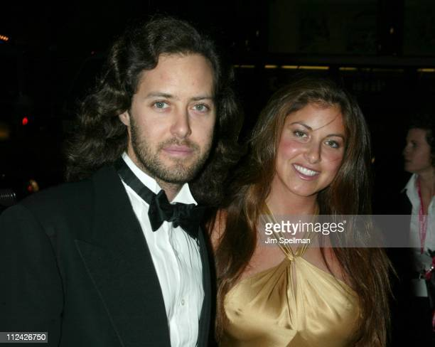 David Lauren and Dylan Lauren during amfAR Benefit Evening Honoring Richard Gere Lorne Michaels and Anna Wintour Arrivals at Cipriani's 42nd St in...