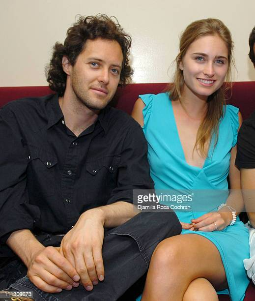 David Lauren and Lauren Bush during Hamptons Magazine Celebrates Cover Model Dylan Lauren at Jet East in Southampton New York United States