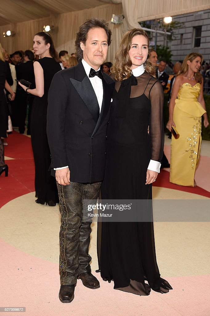 David Lauren and Lauren Bush Lauren attend 'Manus x Machina: Fashion In An Age Of Technology' Costume Institute Gala at Metropolitan Museum of Art on May 2, 2016 in New York City.