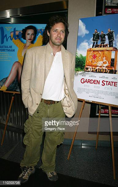 David Lauren during 'Garden State' New York Premiere Inside Arrivals at Chelsea Clearview Cinemas in New York City New York United States