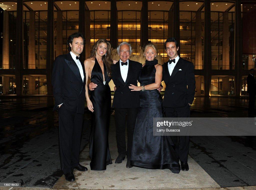Lincoln Center Presents: An Evening With Ralph Lauren Hosted By Oprah Winfrey - Dinner