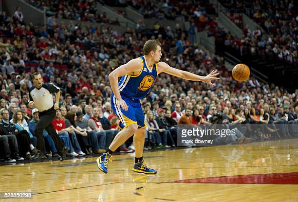 David Lee a Golden State Warrior The Trail Blazers won 90 to 87