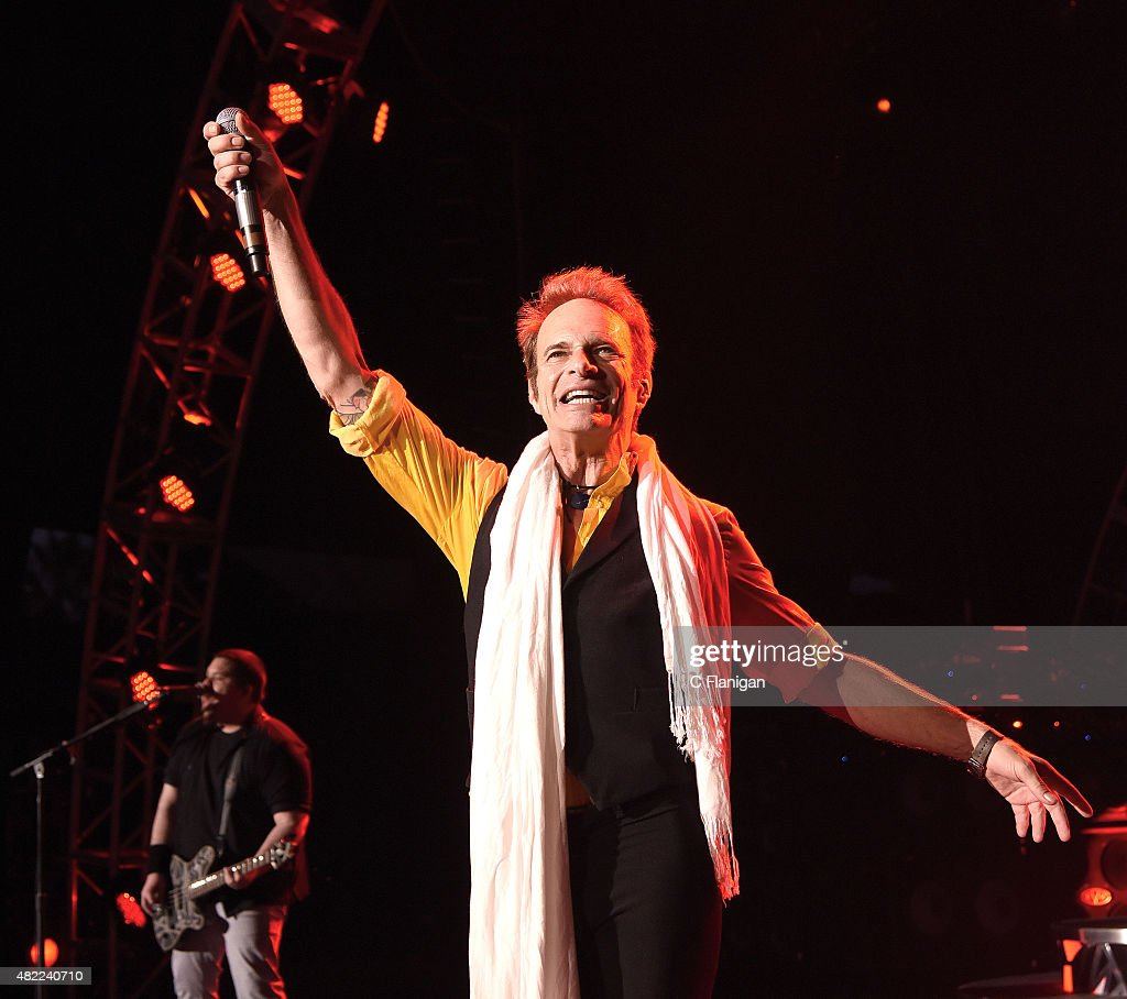 David Lee Roth of Van Halen performs at Shoreline Amphitheatre on July 16, 2015 in Mountain View, California.