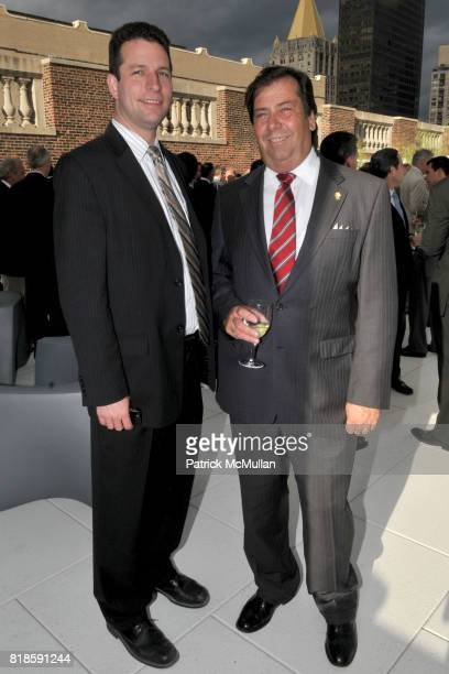 David Leitner and John Travers attend 200 Fifth Avenue 100th Birthday Celebration at 200 5th Avenue on June 17 2010 in New York City